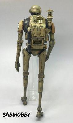 The Creations of Brendan Lee Star Wars Concept Art, Star Wars Fan Art, Robots Characters, Star Wars Characters, Figuras Star Wars, Post Apocalyptic Art, Gundam Custom Build, Star Wars Models, Star Wars Droids