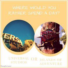 Where would you rather spend a day? #FamilyForward www.familyforward.com