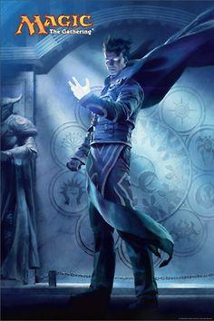 Magic 2015 core set Jace, the Living Guildpact Art