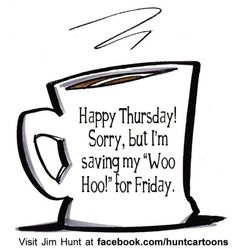 Happy Thursday! #paw #gocsb Sorry no Woo hoo ...