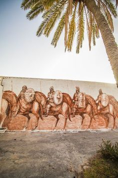 Top 20 des photos de Djerbahood, le village tunisien redécoré par le street art