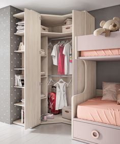 59 best teen bedroom ideas for girl and boys ⋆ neverendingfood. Kids Bedroom Designs, Kids Room Design, Closet Designs, Closet Bedroom, Room Decor Bedroom, Bedroom Ideas, Teen Girl Bedrooms, Bedroom Boys, Dream Rooms
