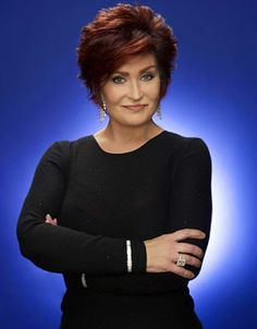 Sharon Osbourne. LOVE her spit-fire personality.