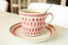 Lillemor, Arthur Percy, for Gefle Porslinsfabrik Interior Decorating, Interior Design, Fika, Porcelain Ceramics, Mid Century Design, Teacups, Own Home, Kitsch, Cup And Saucer