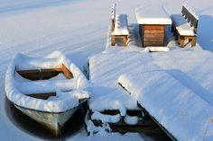 Frozen lake Outdoor Furniture, Outdoor Decor, Boating, Frozen, Home Decor, Boats, Sailing, Interior Design, Home Interior Design