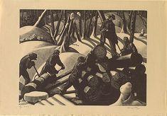 "Clare Leighton,'s ""Loading"", 1931"