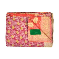 I pinned this from the Shilpa Rathi - Vibrant Kantha Quilts Made from Vintage Sarees event at Joss and Main! Kantha Quilt, Quilts, Textile Patterns, Textiles, Joss And Main, Jewellery Storage, Quilt Making, Character Inspiration, Home Goods