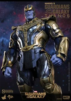 Infamous Marvel Villian Thanos, In Sixth Scale