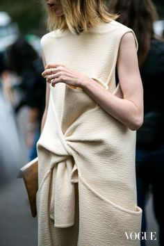 céline knot dress