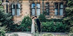 A young couple is getting married in a palace - gettyimageskorea