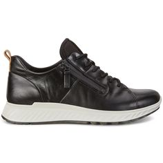Shop ECCO Zip Men's Sneaker - premium leather athleisure shoes with shock absorbing sole designed for active lifestyle. Women's Shoes, Shoes Sport, Top Shoes, Running Shoes, Sneakers Fashion, Fashion Shoes, Fashion Hair, Athleisure Shoes, Stylish Mens Fashion