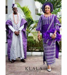 Yoruba Traditional Wedding Attire Styles [Updated May Nigerian Wedding Dress, African Wedding Attire, African Attire, African Wear, African Style, Wedding Dresses, Traditional Wedding Attire, African Traditional Wedding, Traditional Dresses