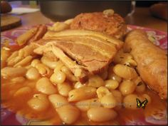 Le Cassoulet, Beans, Chicken, Vegetables, Recipes, Pork, Beans Recipes, Meat, Sweet Recipes