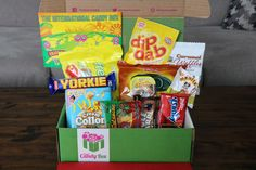 Project Candy Box - Home