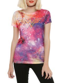 DC Comics Wonder Woman Galaxy Girls T-Shirt