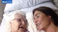 Beautiful moment 87-year-old woman with Alzheimer's surprises her daughter by remembering her name.