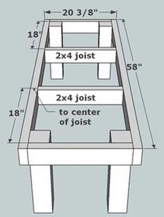 Span 2x10 floor joists require for Yesler wall mount glass sink