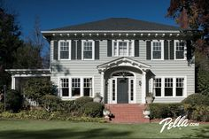 Create instant curb appeal with an energy-efficient Pella front door.