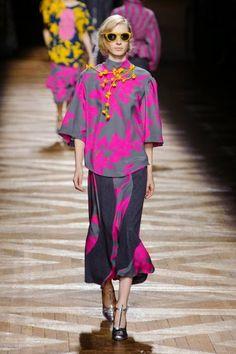 Dries Van Noten @ Paris Fashion Week winter 2014-15