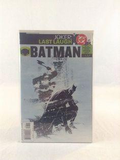 DC Comics December 2001 #596 Batman Joker Last Laugh Action Comic Book
