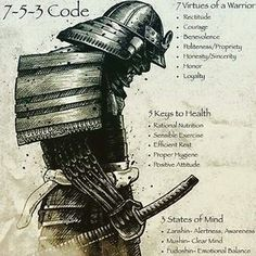 7 virtudes de un guerrero ..