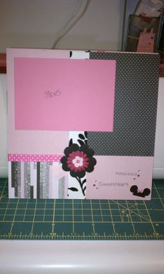 Minnie page (right side) - Scrapbook.com