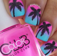 nails.quenalbertini: Summer nail art