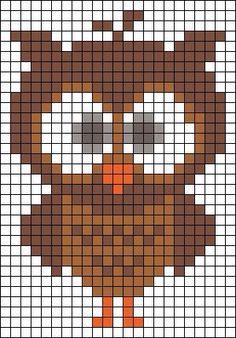 Owl pixel art