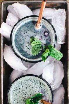 Blueberry Mint Matcha Latte | Brewing Happiness 》@onelittlexavin《