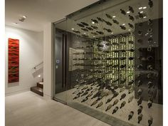Another creative example to store your wine