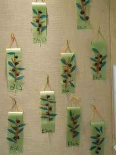 Tree Crafts, Diy Home Crafts, Crafts For Kids, Autumn Crafts, Christmas Crafts, Fall Projects, Projects To Try, First Fathers Day Gifts, School Themes