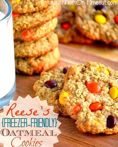 Oatmeal Cookies | 27 Make-Ahead Recipes That Freeze Well And Make Great Leftovers