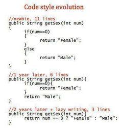 js with repostapp・・・Code style evolution. Programming Patterns, Programming Humor, Computer Memes, Computer Science, Java, Linux Mint, Software Development, Evolution, Funny Jokes