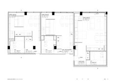 Image 22 of 25 from gallery of BY Studios  / WAATAA_we are all together around architecture. Ground Floor Plan