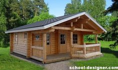 Bathhouse with a gazebo under one roof (projects, photos): profitable, functional and aesthetically pleasing | School designer