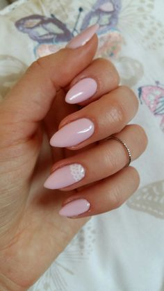 semilac 056 delicate pink nails