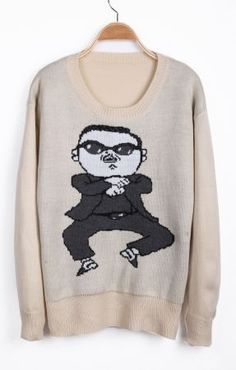 To find out about the Apricot Long Sleeve Gangnam style Pattern Sweater at SHEIN, part of our latest Sweaters ready to shop online today! Oppa Gangnam Style, Fashion Outfits, Womens Fashion, Fashion Trends, Swagg, Pattern Fashion, Fashion Forward, Cute Outfits, Graphic Sweatshirt