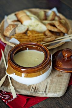 A Basic Cheese Fondue How-To w/ #AlexiaFoods dip-ables. #herestofood