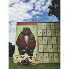 Mural on Oliver Hill. Richmond. Va.