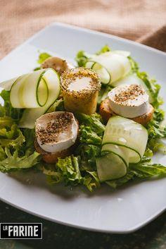 Salade Chevre Chaud by La Farine bistro Bucharest