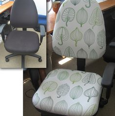 I may have to just do this to an office chair if it's too costly for the super fancy ones