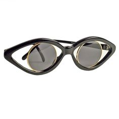 Eye see what you did there. Vintage Jean-Charles de Castelbajac sunglasses