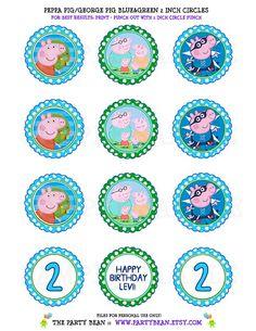 Decorazioni Peppa Pig da Stampare - Idee per Feste. Visita il nostro sito www.crealafesta.it e scopri tutti i Kit per la tua Festa a Tema.