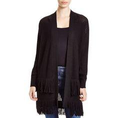 Rebecca Taylor Fringe Knit Cardigan Fringe Cardigan, Knit Cardigan, Rebecca Taylor, Luxury Fashion, Knitting, Sweaters, Shopping, Collection, Design