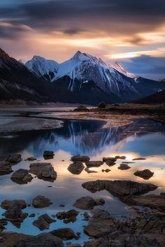 Medicine Lake (Jasper, Alberta) by Dylan Toh & Marianne Lim on 500px