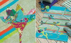 fabriquer un tapis bohème
