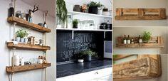 Wir stehen alle mal in der Küche! Wussten Sie, dass es auch für die Küche viele verschiedene DIY-Ideen gibt? Verschiedene Ideen, um Töpfe oder Pfannen aufzubewahren oder das Geschirr zu präsentieren? Schauen Sie sich hier 13 DIY-Ideen an, die in Ihrer Küche bestimmt wunderschön aussehen würden!