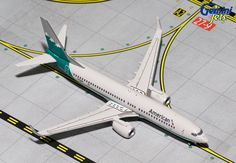 "1/400 GeminiJets American Airlines ""Reno Air Retro"" Boeing 737-800s Diecast Model"