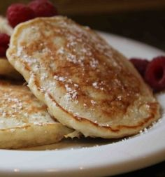 Oatmeal Pancakes - These pancakes were beyond exceptional. I wasn't the only one who thought so. After helping me make them, both boys polished off 5 pancakes each!