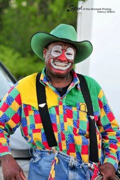 Rodeo clown Leon Coffee is in the hospital with meningitis. Our Thoughts and Prayers go out to Leon & his family.